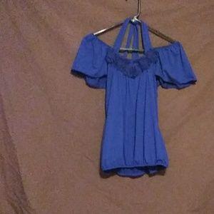 (A6) Eyelash Couture ladies blouse